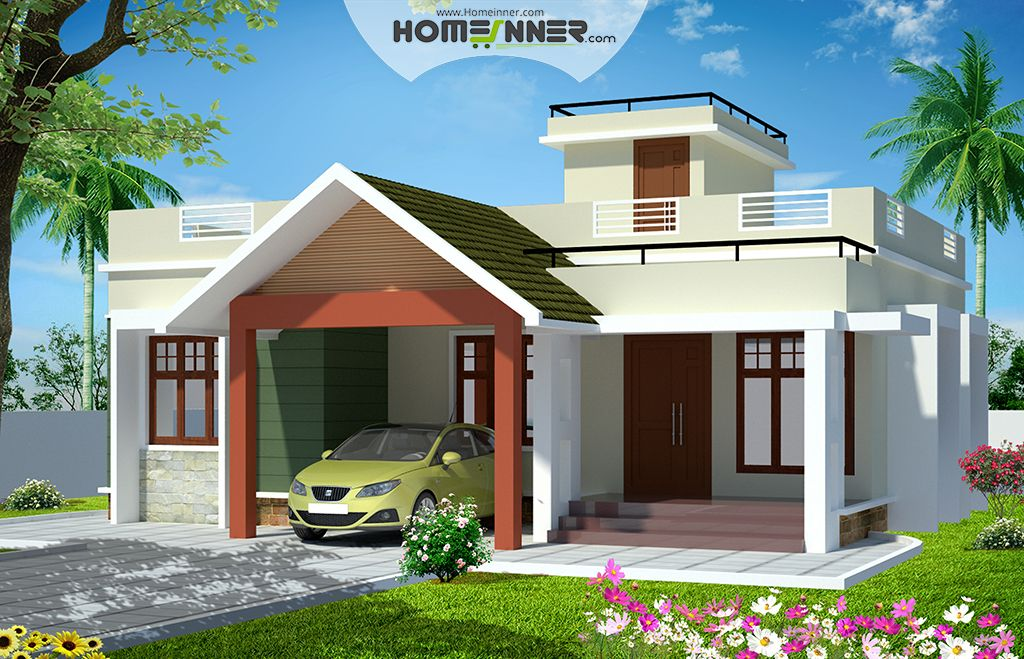 Sqft Bedroom House Plans Kerala Indian Home Design Free Apartment