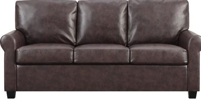 8 Dark Brown Faux Leather Couch Options | Faux Leather Sofas ...