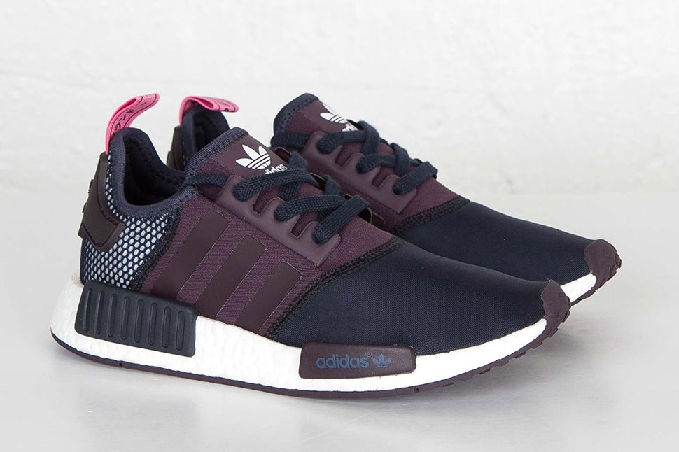 Cheap Adidas NMD OG black red unboxing review