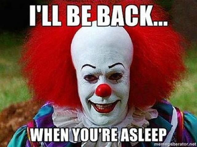 Pennywise the Clown Funny as F Pinterest Happy