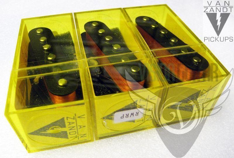 Van Zandt VINTAGE PLUS STRAT 3 Pickup Set RW//RP Middle GREAT TONE!