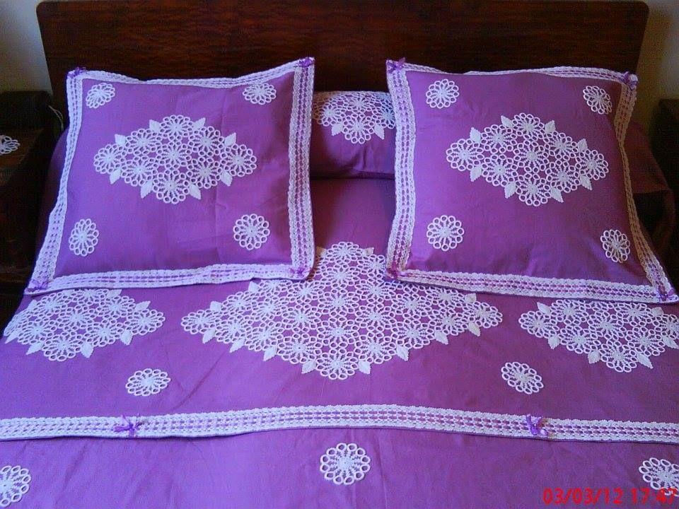 couvre lit couvre lit pinterest crochet. Black Bedroom Furniture Sets. Home Design Ideas