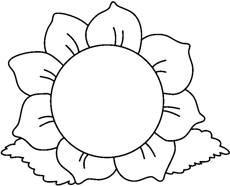 Flower clipart black and white clip art pinterest flower flower clipart black and white mightylinksfo