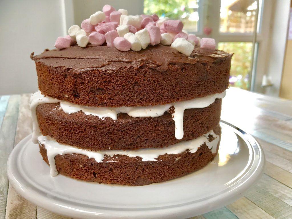 Recipe Chocolate Marshmallow Cake