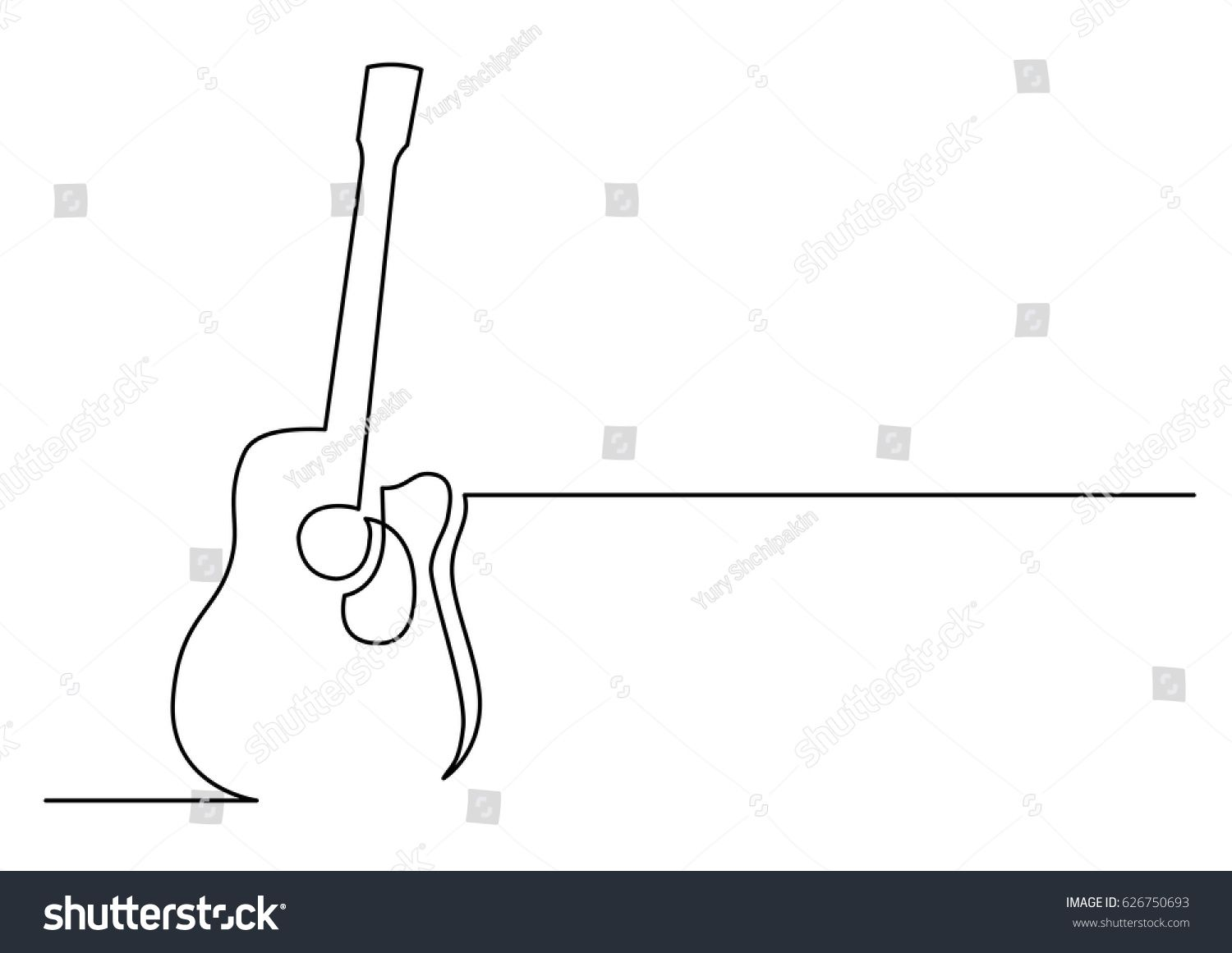 Continuous Line Drawing Of Acoustic Guitar Sponsored Sponsored Line Continuous Drawing Guitar Line Drawing Continuous Line Drawing Single Line Drawing