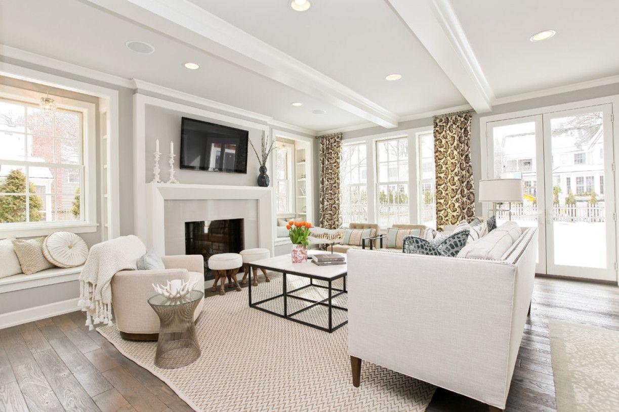 Stonington Gray Benjamin Moore For Large Living Room Wall Paint ...