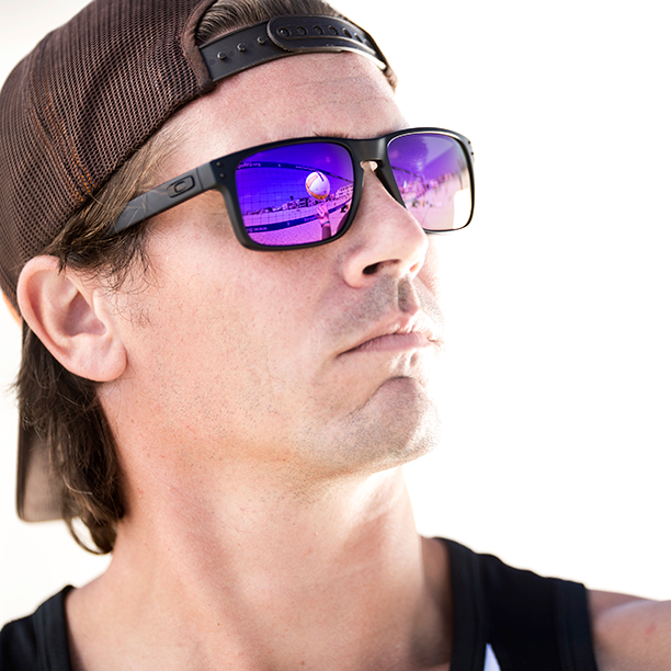 oakley purple