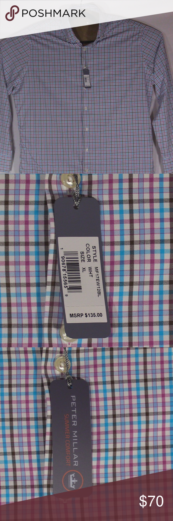 c24d1ed85ef9 New Peter Millar Crown Sport Summer Comfort XL Up for sale New With Tags  New Collection