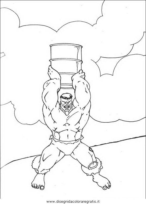Guarda Tutti I Disegni Da Colorare Di Hulk Www Bambinievacanze Com