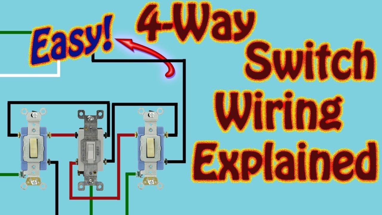 4 Way Switch Explained How to Wire 4 Way Switches to