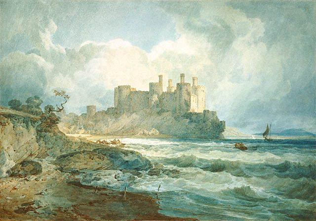 Conway Castle, North Wales - J.M.W. Turner