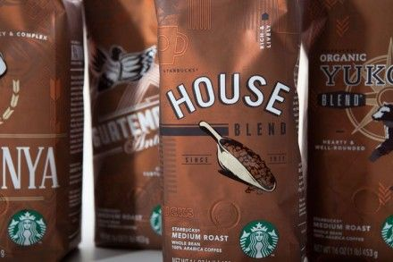 New Designs For Starbucks Coffee Bags Coffee Packaging Pinterest
