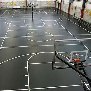 El Fin De Semana Que Paso Mucho Tiempo En La Cancha De Baloncesto En City Sports Indoor Basketball Court Indoor Basketball Basketball Court