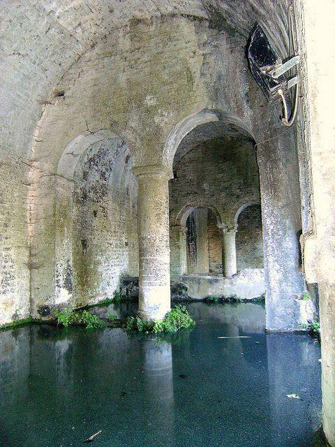 The mysteries of the past. San Gimignano, Tuscany, Italy
