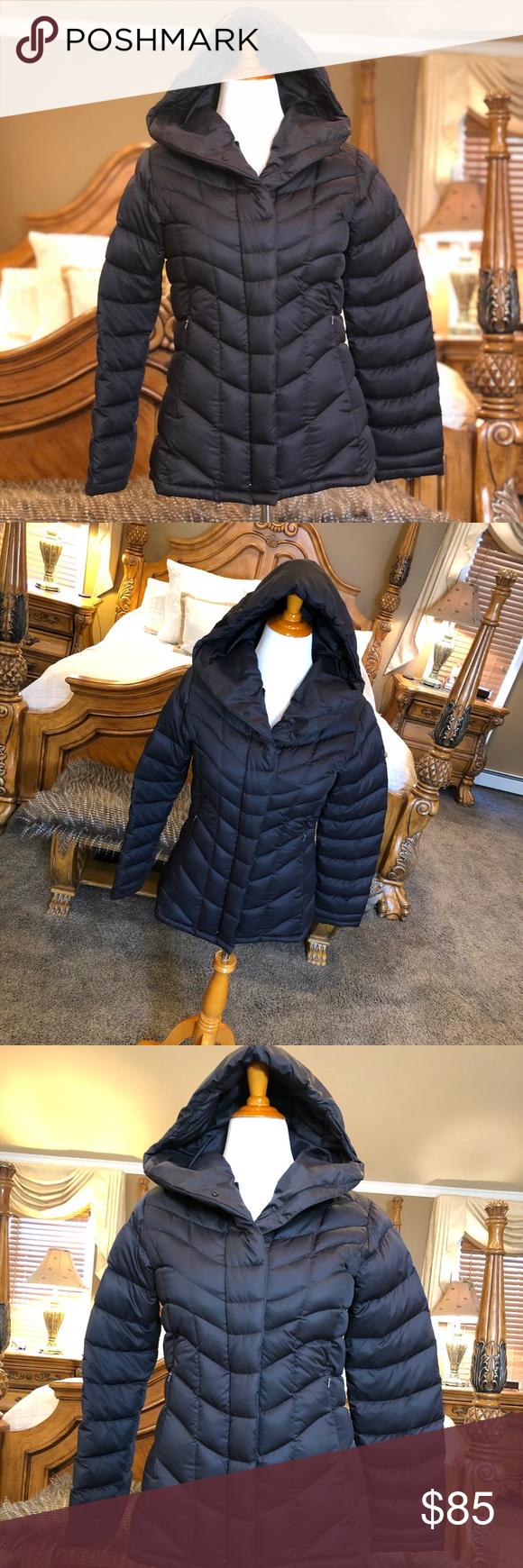 Patagonia Black Down Puffer Coat Size Medium Down puffer