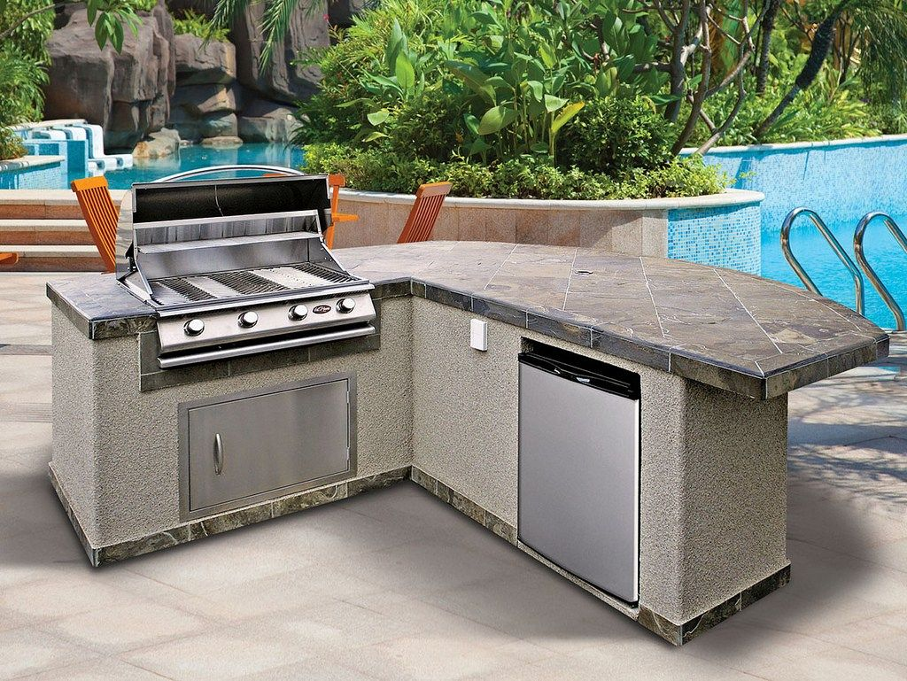 Outdoor Kitchen Barbecue Rafael Home Biz With Barbecue Kitchens Outdoors 16 Examples Of Modular Outdoor Kitchens Prefab Outdoor Kitchen Outdoor Kitchen Design