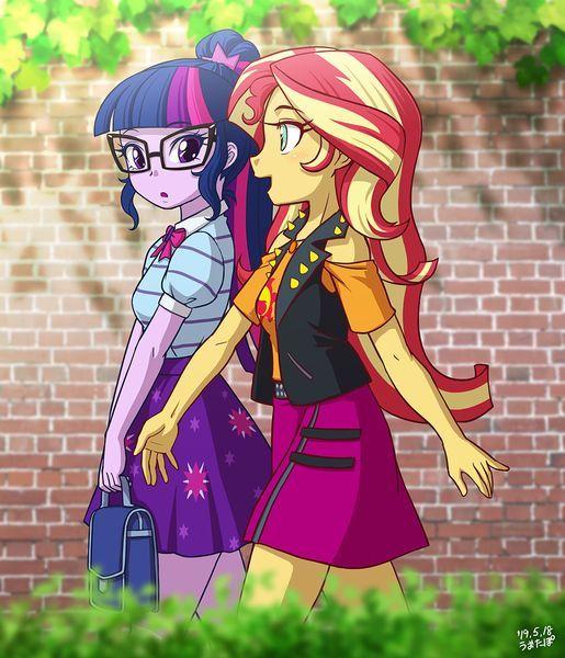 #2041890 - artist:uotapo, clothes, cute, duo, equestria girls, female, glasses, ... -  #2041890 – artist:uotapo, clothes, cute, duo, equestria girls, female, glasses, human, open mouth - #artistuotapo #cartoonnetwork #clothes #cute #duo #Equestria #female #Girls #glasses #miraculous #miraculousladybug #miraculousladybugandcatnoir #miraculousladybugseason4 #miraculousladybugseason4episode1 #mylittlepony #mylittleponyequestriagirls