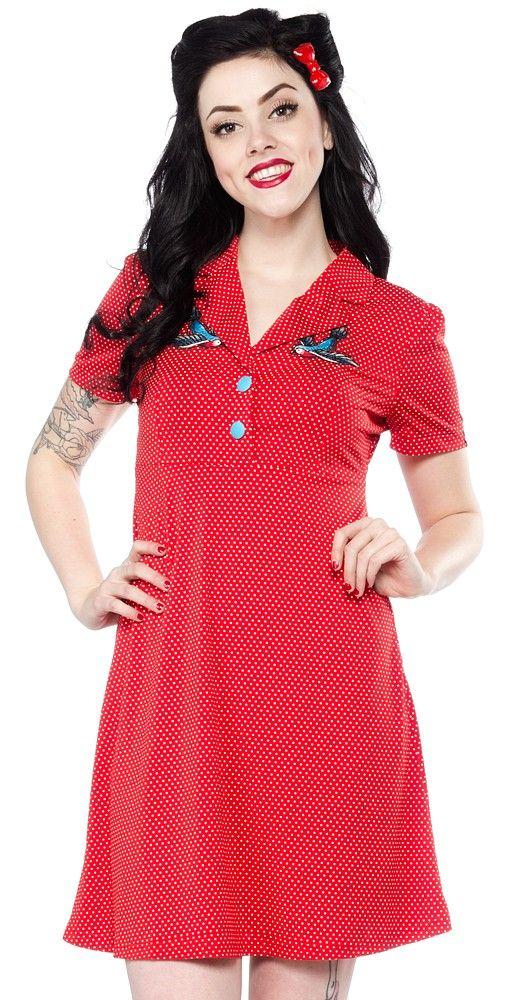 Sourpuss Rosie Sailor Rockabilly Nautical Emo Punk Tattoo Flash Dress SPDR316
