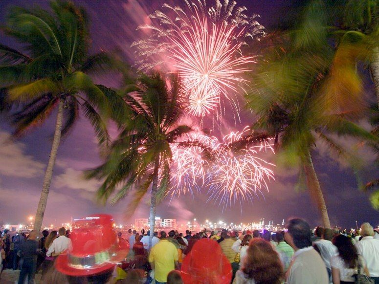 New Year's Eve Miami Florida If you're going to watch