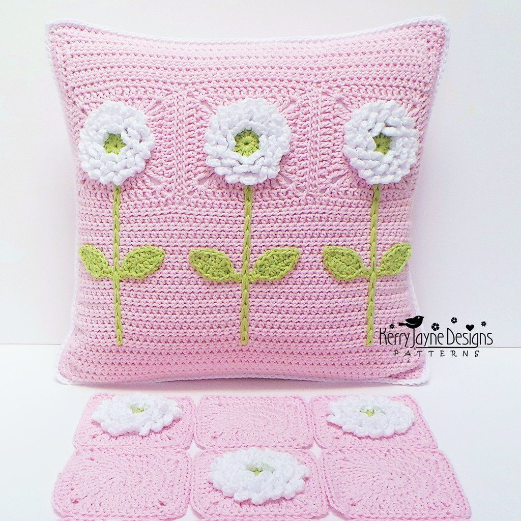 Make your own pillow pattern only the delightful dahlias pattern only the delightful dahlias cushion crochet bankloansurffo Image collections