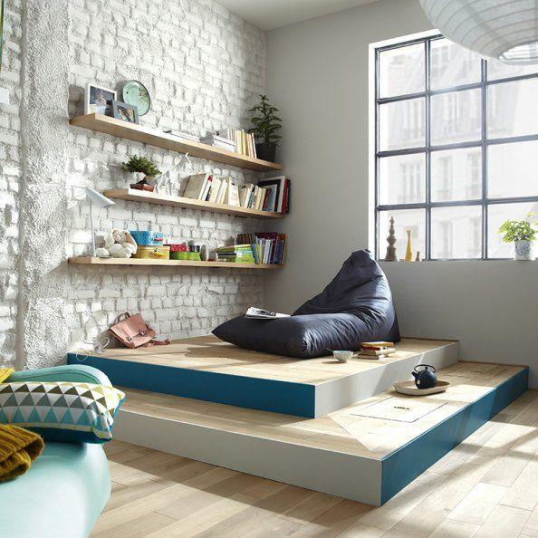 Estrade - Leroy Merlin | Bibliothèque / Bookcase | Pinterest