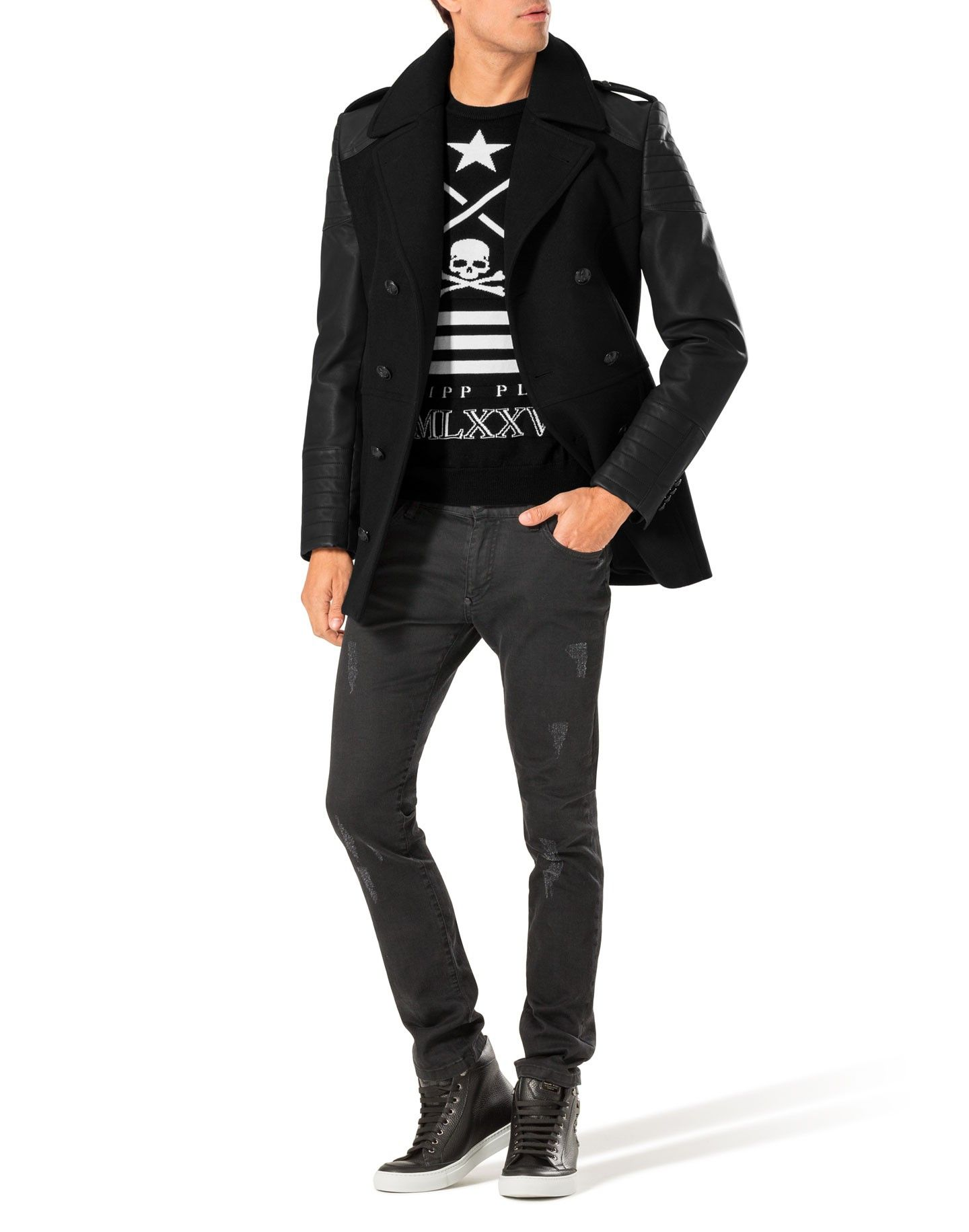 Coat Speechless Coats Jackets Clothing Men Philipp Plein Mens Outfits Jacket Outfits Clothes [ 1832 x 1440 Pixel ]