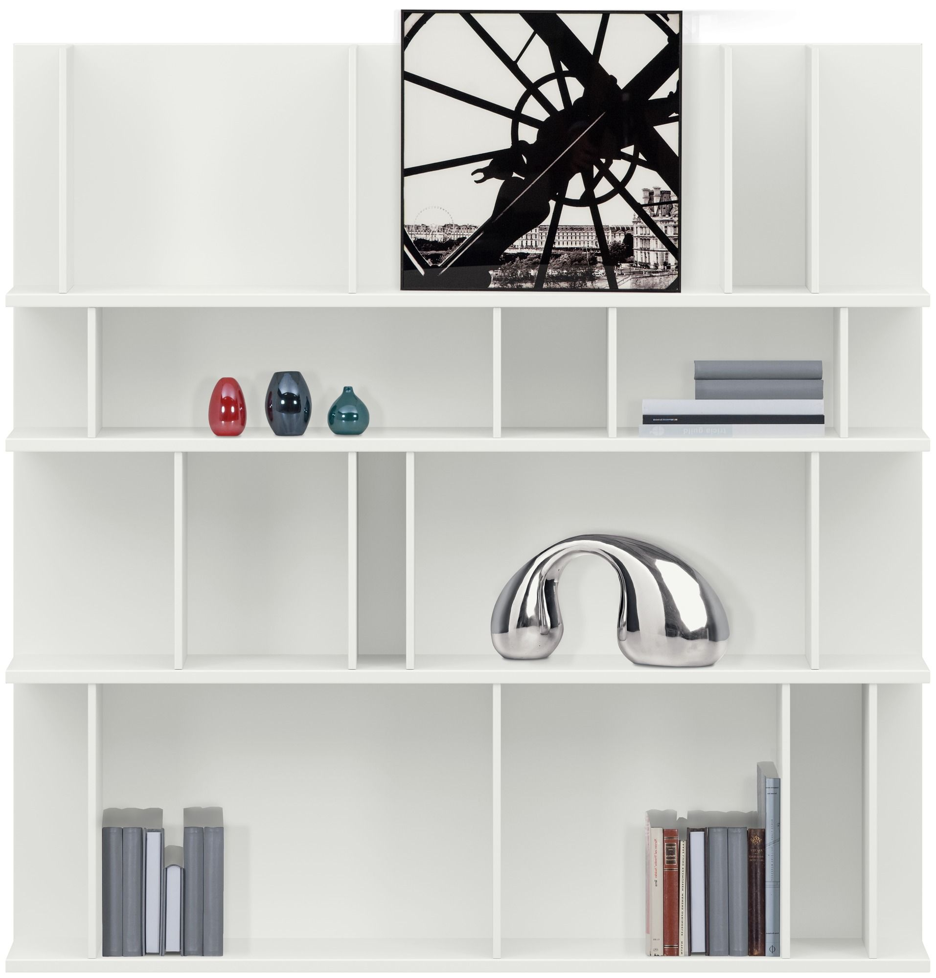 como bookcases and shelves customised wall systems and. Black Bedroom Furniture Sets. Home Design Ideas