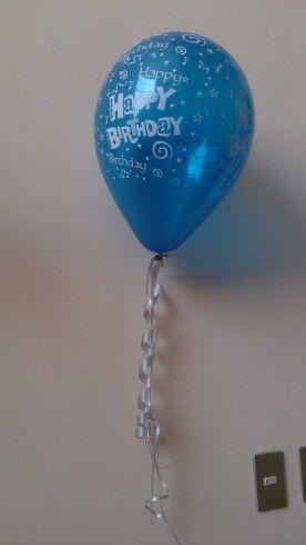 Ballon globo happy birthday