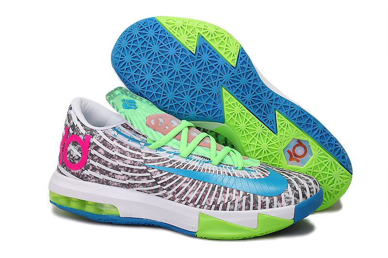 DC Preheat KD VI Hyper Blue Lime Electric Green Grey :