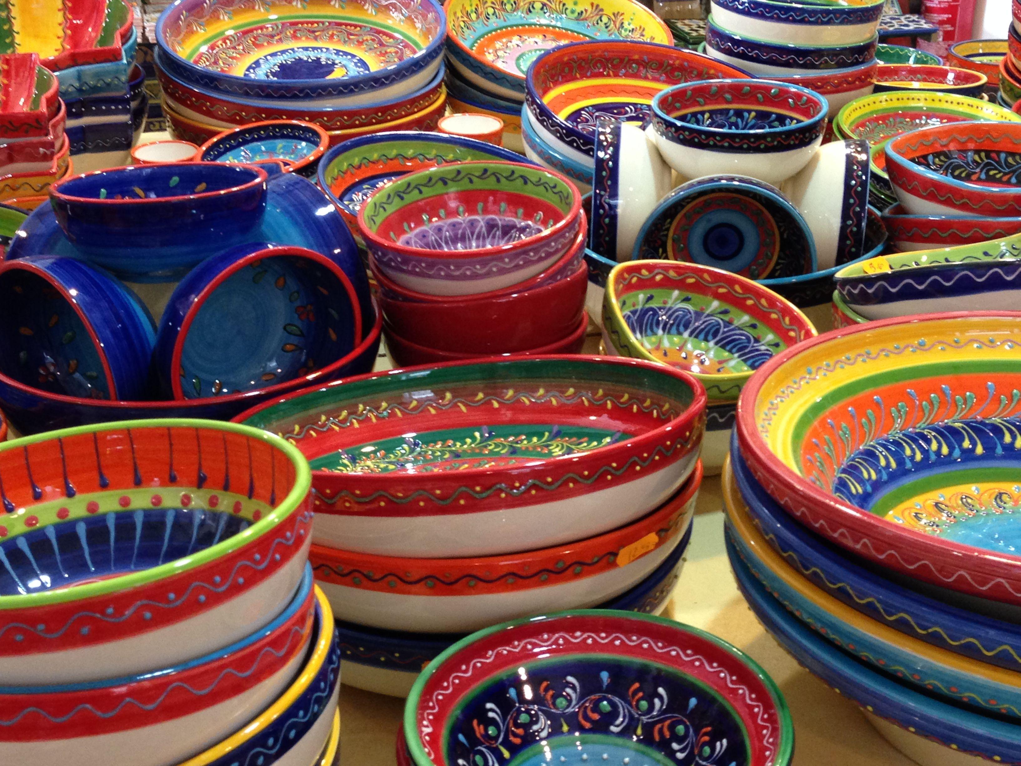 Ceramicas en Sevilla-- día después del día de andalucía