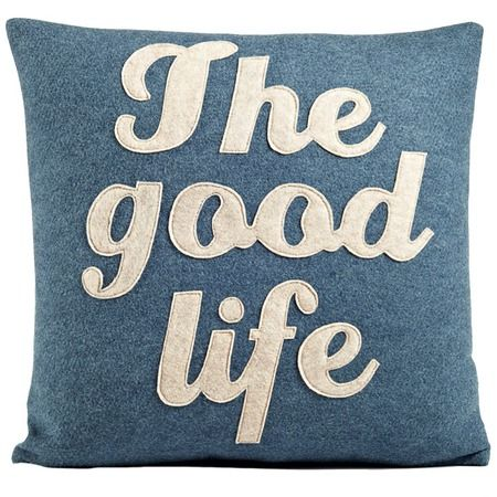 I pinned this Good Life Pillow from the Beach Breezeway event at Joss and Main!
