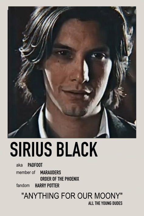 Sirius Black Minimalist Poster