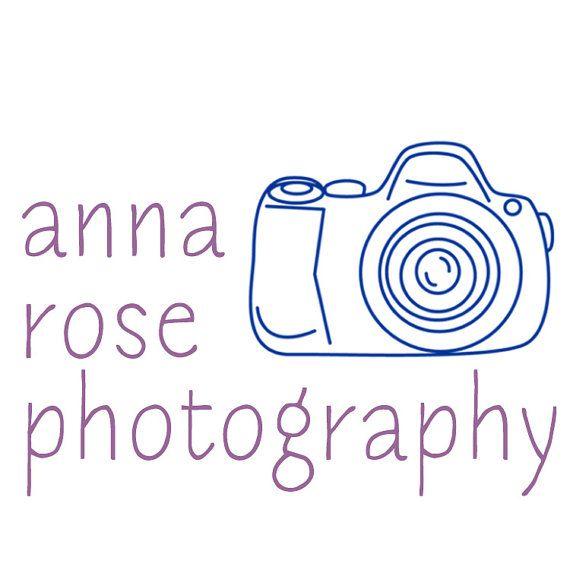 Premade Business Logo Design - blue per proprietari di piccole imprese progettisti fotografi - fotocamera