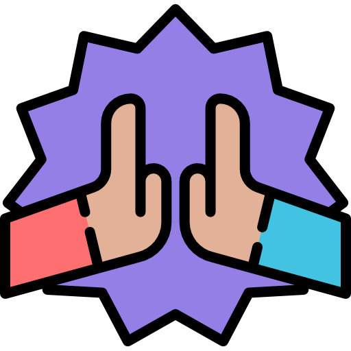 High Five Free Vector Icons Designed By Freepik Vector Icon Design High Five Icon Design