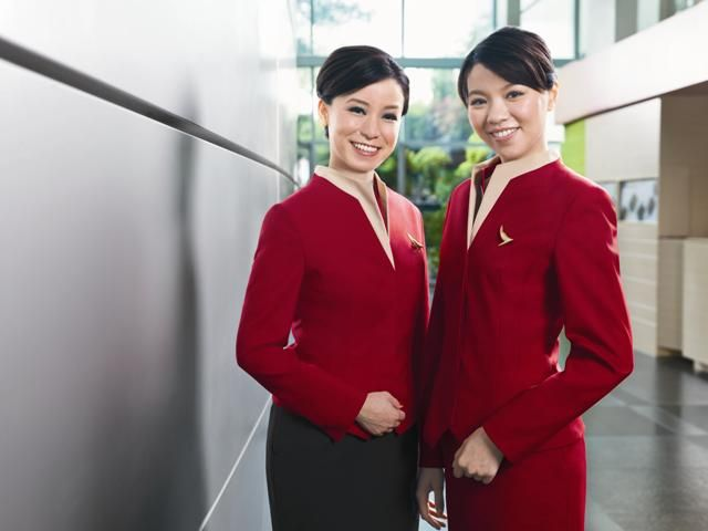 Cathay pacific hong kong crew pinterest cabin crew for Korean air cabin crew requirements