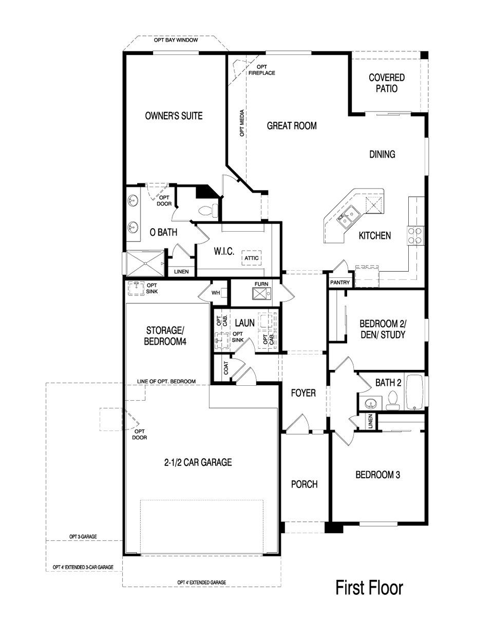 Pulte Homes Emerald Floor Plan via nmhometeam – Pulte Homes Floor Plans