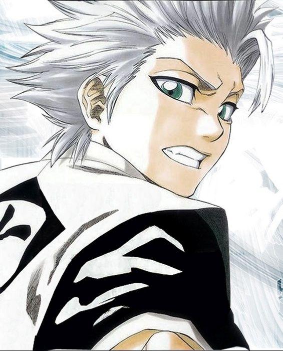 Captain Of Squad 10 Toshiro Hitsugaya 3 Bleach