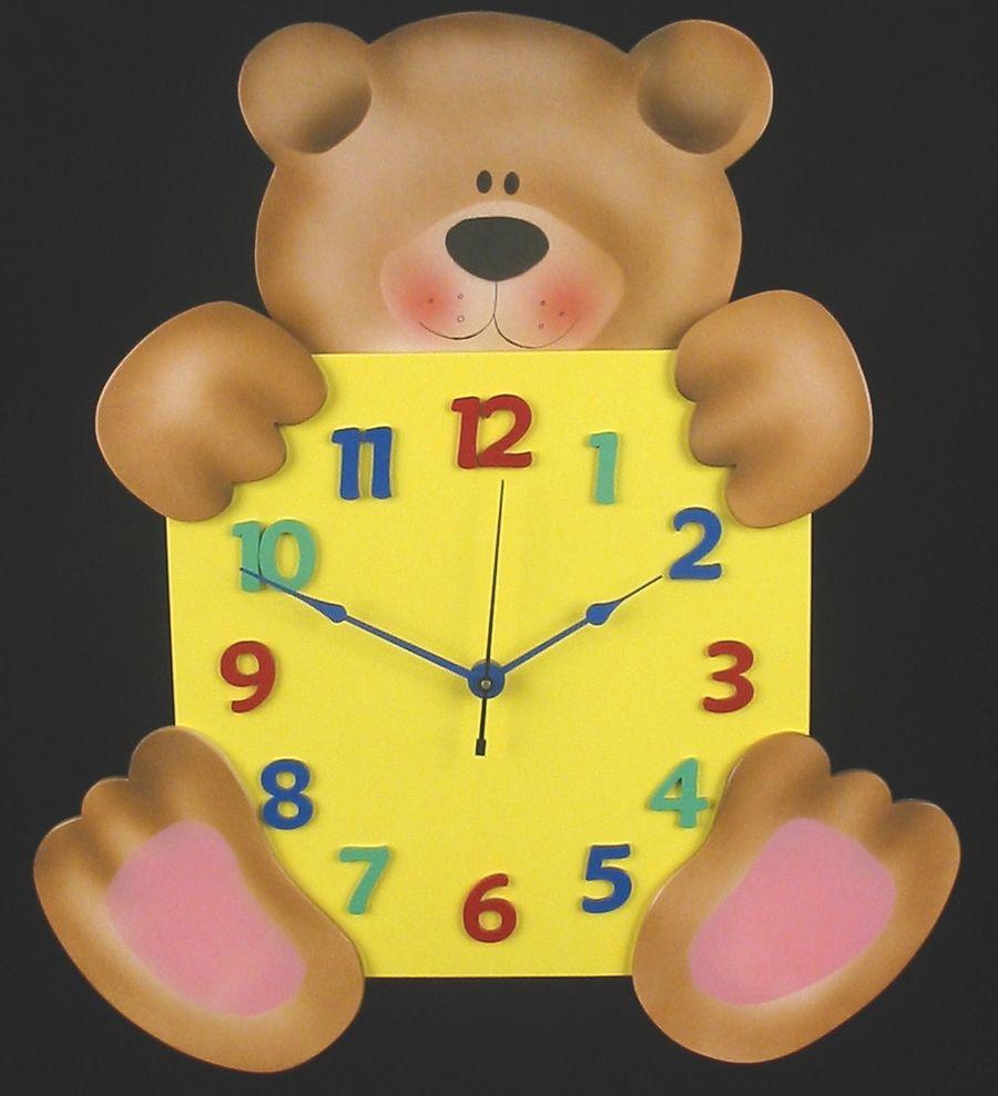 kids-bedroom-accessories-fabulous-children-clock-for-unisex ...