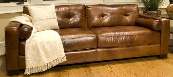 Soho Leather Sofa Elements Fine Home Furnishings