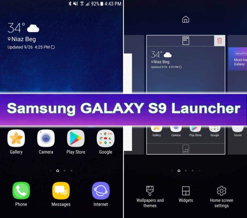 Galaxy S9 Launcher APK Download [Samsung Galaxy S9 Theme