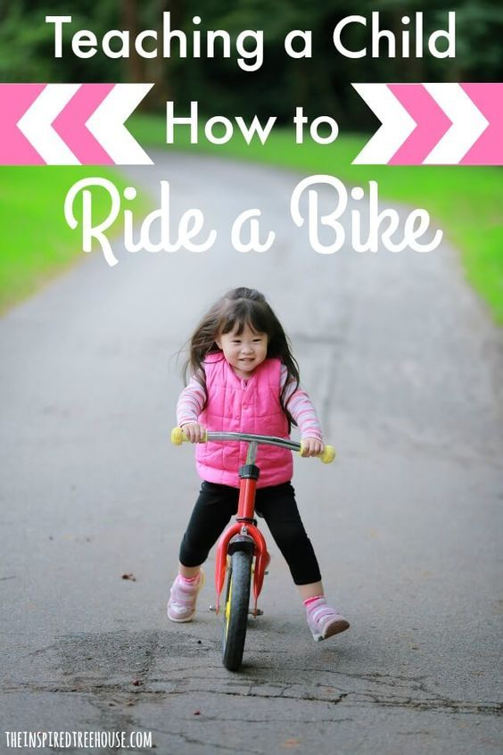 Helping Your Child Learn To Ride A Bike Kids Learning Child