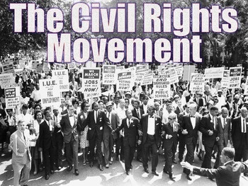 civil rights movement lesson plan powerpoint | social studies, Powerpoint templates