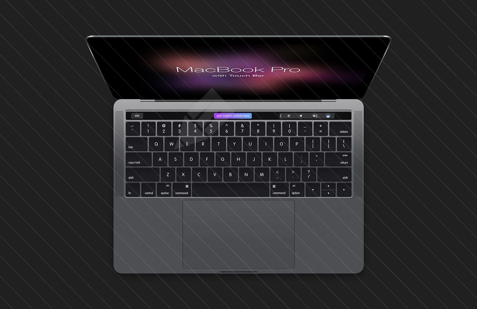 photoshop macbook pro touch bar