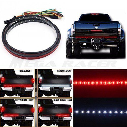 "60/"" Pickup Truck LED Tailgate Light Bar Reverse Signal for Toyota Tundra Tacoma"