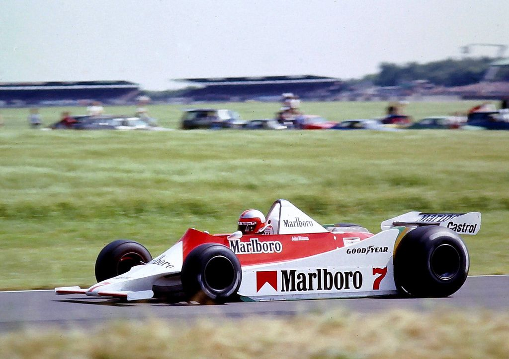 John Watson - Mclaren M29 - 1979 British Grand Prix, Silverstone - a ...