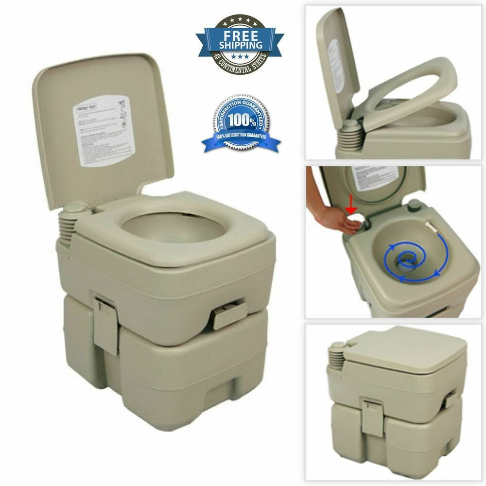 5 Gallon 20l Portable Toilet Flush Travel Camping Outdoor Indoor Potty Commode Camping Nature Hiking Travel Ad Portable Toilet Flush Toilet Camping Toilet