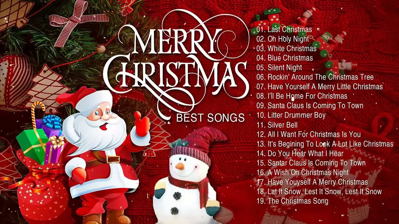Top 100 Traditional Christmas Songs Ever Best Classic