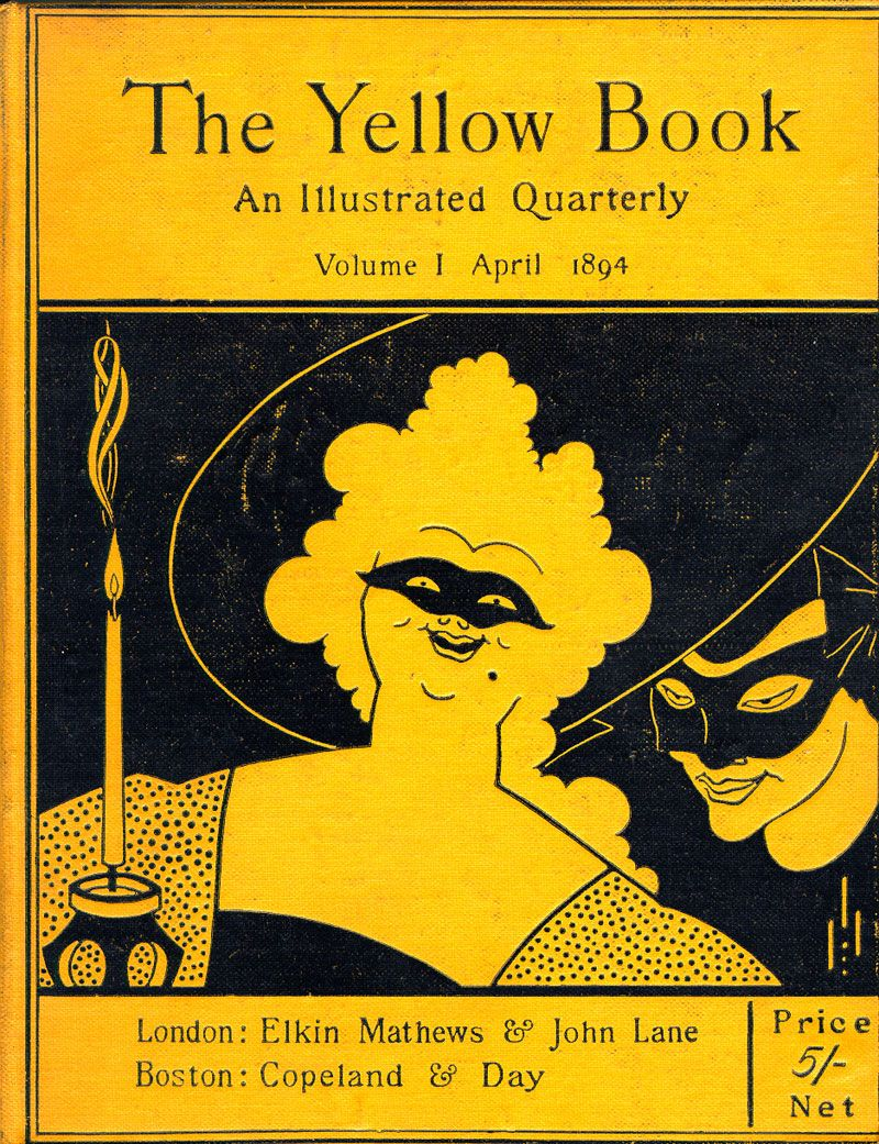 F. Holland Day and Herbert Copeland were the American publishers of The Yellow Book