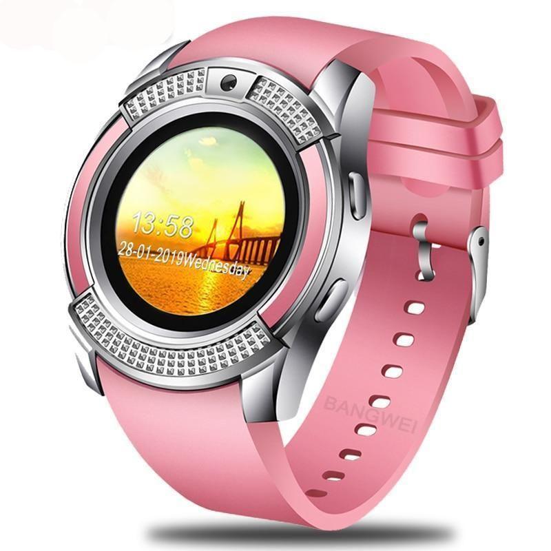 Bangwei 2019 new women smart watch led color screen