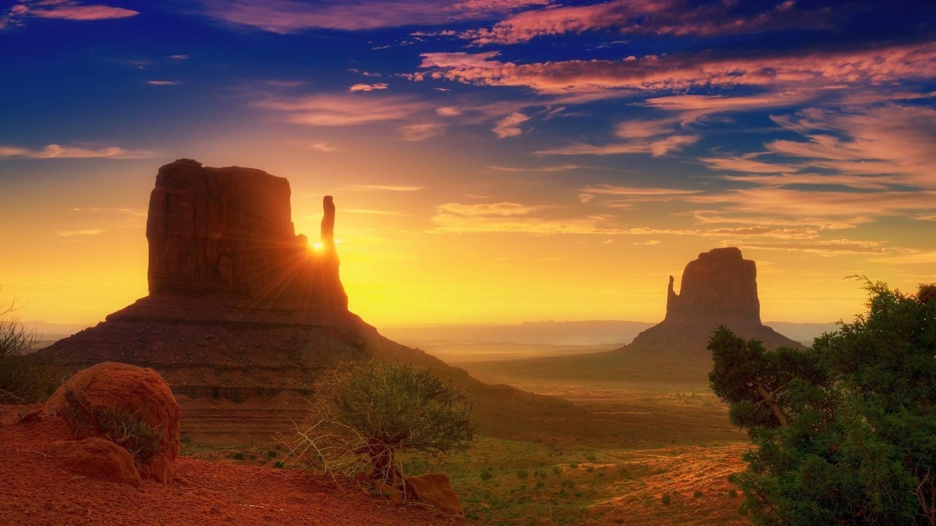 Hd Superior Desert Sunset Wallpaper Grand Canyon Sunrise Monument Valley Arizona Sunset